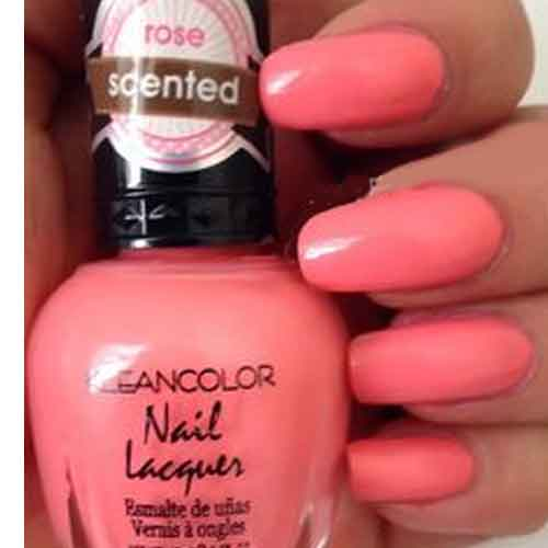 ROSE BOUQUET SCENTED NAIL LACQUER NAIL POLISH