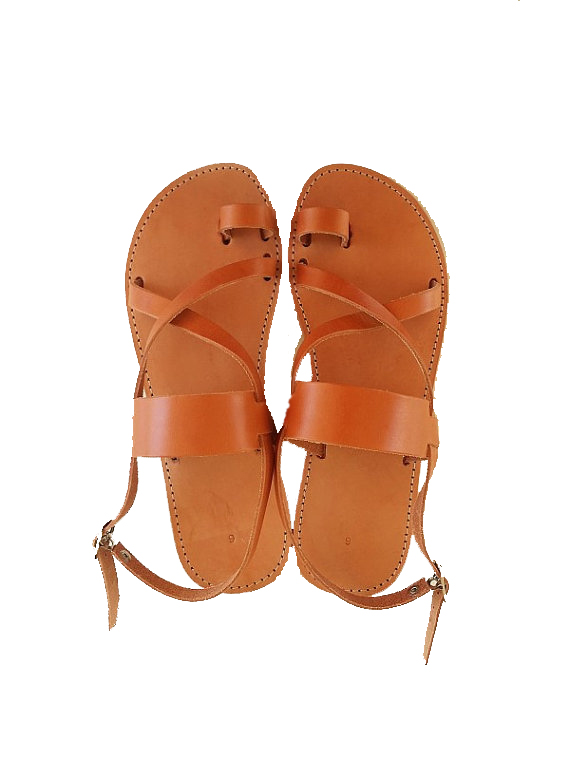 2e0517d7fc8613 Women Leather Light Brown Flat Sandals. Ask a question about this product